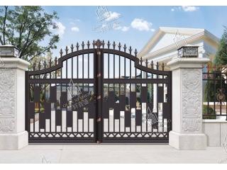 铝艺庭院大门护栏4