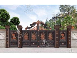 铝艺庭院大门护栏2