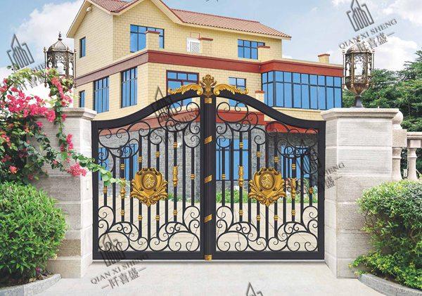 铝艺庭院大门护栏3