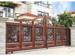 铝艺庭院大门护栏7