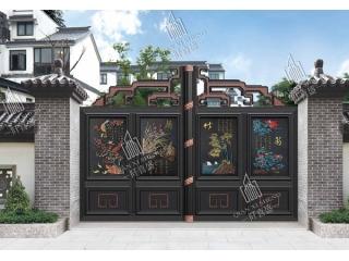 铝艺庭院大门护栏6
